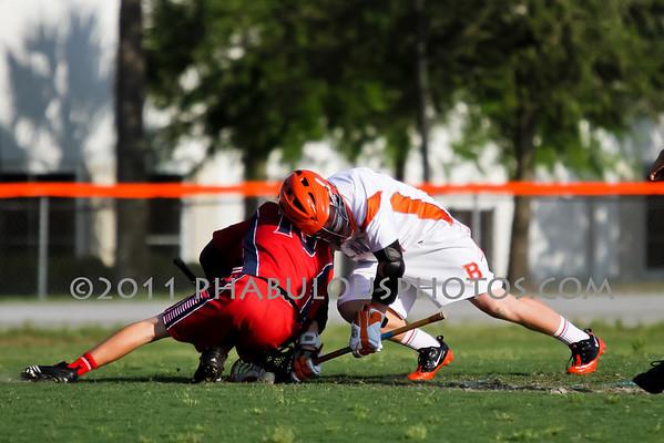 Freedom @ Boone Boys JV Lacrosse - 2011
