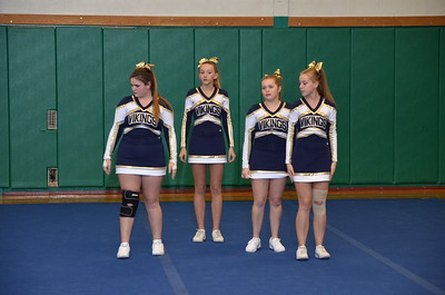 Cheerleader competition 10-25-16