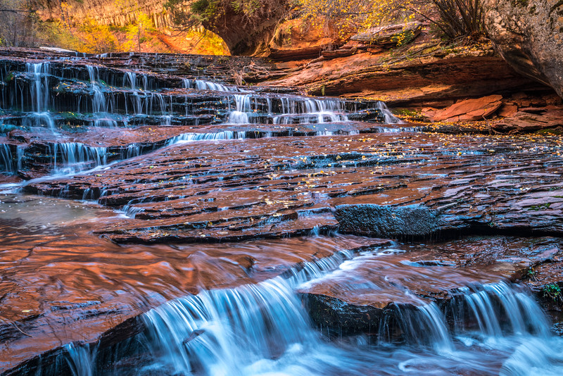 Zion National Park Autumn Colors & Winter Snow Fine Art Photography 45EPIC Dr. Elliot McGucken Fine Art Landscape and Nature Photography: Sony A7RII