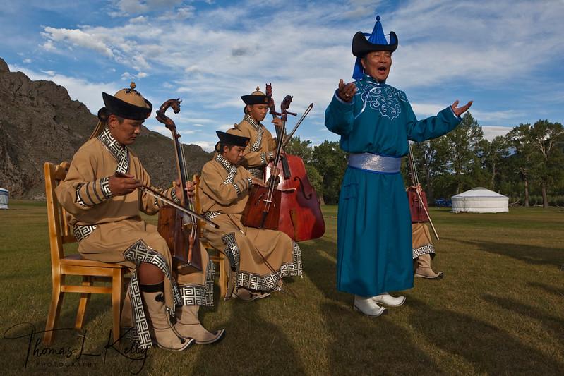 Morin Khurr Concert in Bunkhan Valley