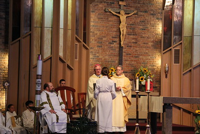 Father Andrews Installation