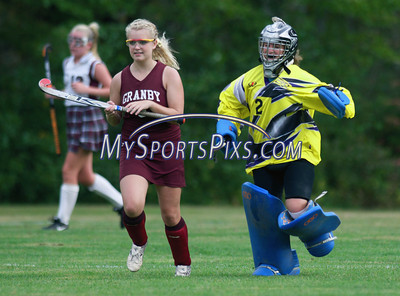 Granby Memorial vs Canton Field Hockey 9/22/2009