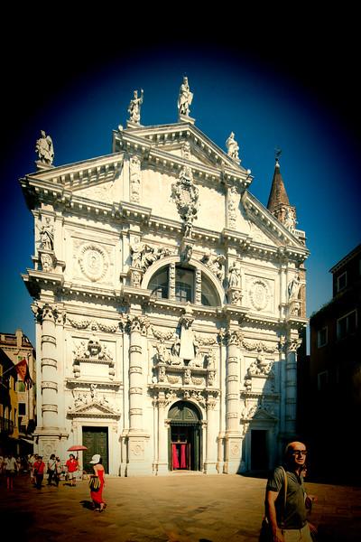 San Moise church, San Marco sestiere, Venice, Italy