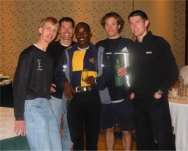 2003 Vancouver Sun Run - Odermatt, Kennell, Koech, Finlayson, O'Brien