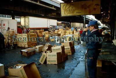 Fulton Fish Market, New York City