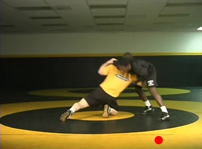 Defending the front headlock- attack elbow to high crotch