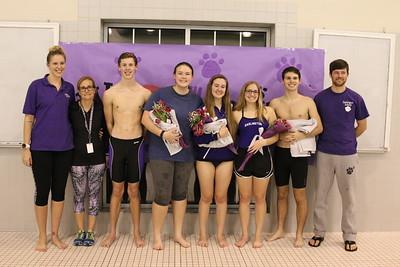 Dive - Swim Senior Night 2017