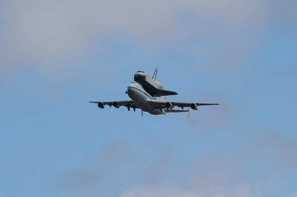 Space Shuttle Delivery to New York City (4/27/12)