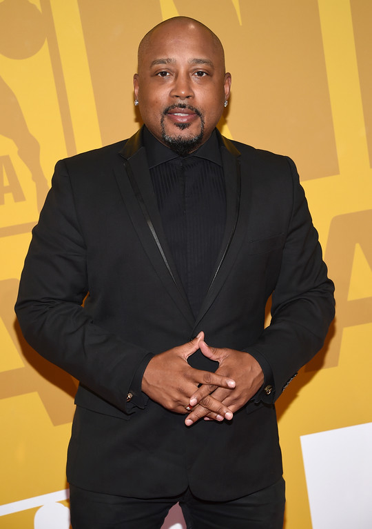 . Daymond John arrives at the NBA Awards at Basketball City at Pier 36 on Monday, June 26, 2017, in New York. (Photo by Evan Agostini/Invision/AP)