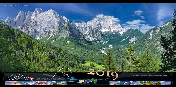 Calendario Alpi Orientali 2019