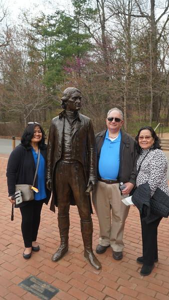 Virginia April 2019 - Monticello at Charlottesville