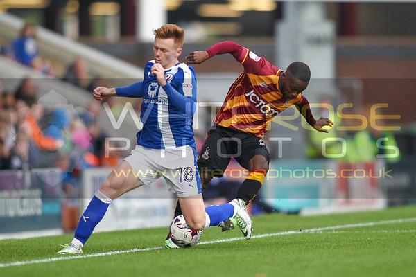 Chesterfield v Bradford City  01 - 10 - 16
