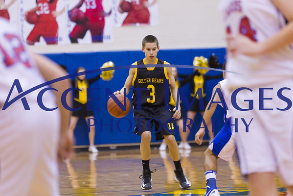 UA Freshman Gold Basketball 1/18/13