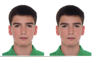 2014-09-06, Portrait of Ilia for Russian passport