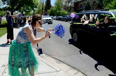 Photos: Uni Hill Elementary has Continuation Parade on Last Day