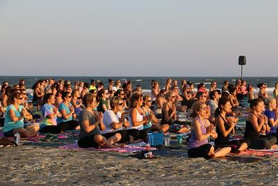 Folly Beach Starlight yoga 6-2016