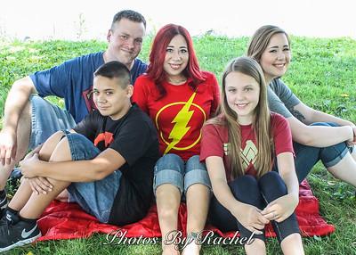 Valaree & Jason's Family Photos: From Superhero to Tropical Paradise