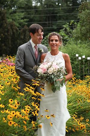 Heather + Andrew: A Gorgeous Avon Gardens Wedding