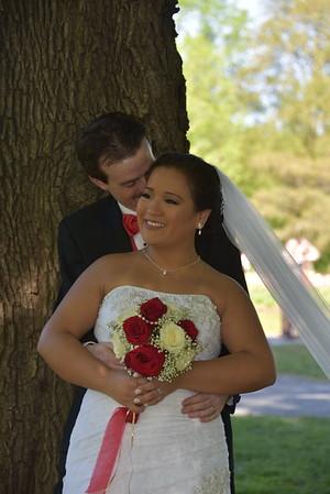 Sheer joy Vanessa and Steve