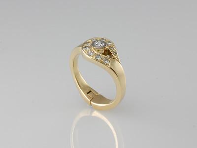 Hinged rings