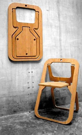 Foldable, armable portable clever furniture