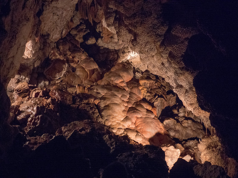 flowstone in Jewel Cave