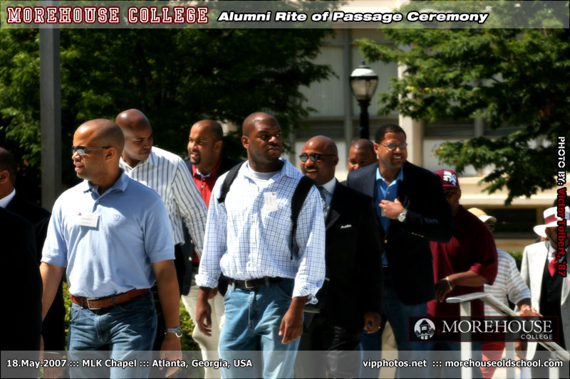 Morehouse Alumni Rite of Passage Ceremony ::: MLK Chapel ::: ATL, GA [May.18.2007]