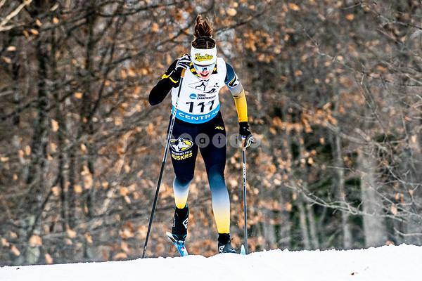 2021 - NCAA Nordic Regionals - Women - Day 1 - 5k Classic
