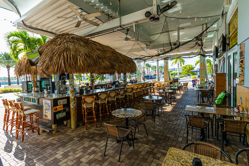 Rafiki Tiki Bar & Grill,  located at 190 E 13th St, Riviera Beach, Florida on Tuesday, September 17, 2019.  [JOSEPH FORZANO/palmbeachpost.com]