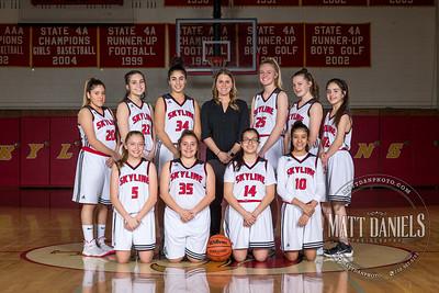 2018-19 Skyline Girls Basketball