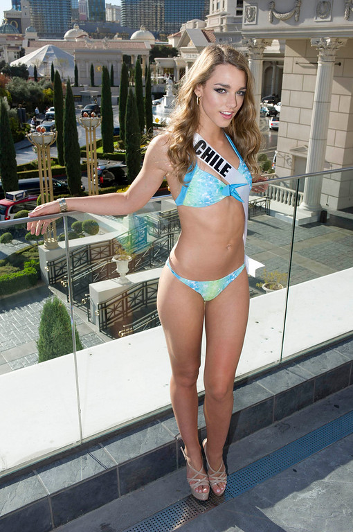 . Miss Chile Ana Luisa Konig poses in Las Vegas, Nevada December 7, 2012. The Miss Universe 2012 competition will be held on December 19. REUTERS/ Darren Decker/Miss Universe Organization L.P/Handout