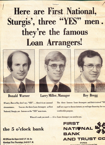 Don Warner, Larry Miller, Roy Bregg