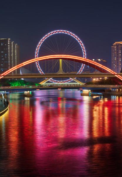 The Ferris Wheel in Tianjin