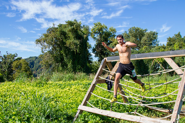 2014 Mud Run - Adults A-Frame Obstacle