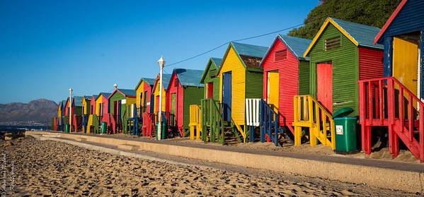 South Africa - Muizenberg - St James beach, Western Cape