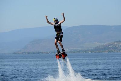 Sean Flyboarding in Kelowna