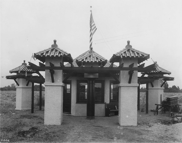 Pacific Electric Company Slauson Junction station, ca.1920-1930