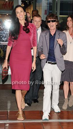 L'wren Scott & Mick Jagger at a Haiti fundraiser in Manhattan on 5-6-10. all photos by Rob Rich © 2014 robwayne1@aol.com 516-676-3939