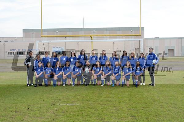 Heritage JV Girls Soccer 1.14.20