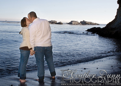 Engagement Session at Shell Beach