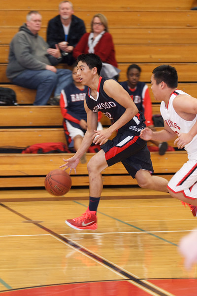 RCS Varsity Boys' Basketball vs Valley - Jan .13.2015