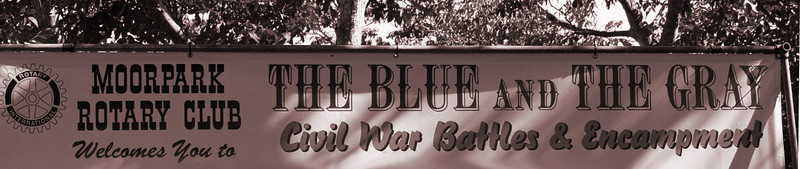 Annual Civil War Re-enactment, Moorpark CA