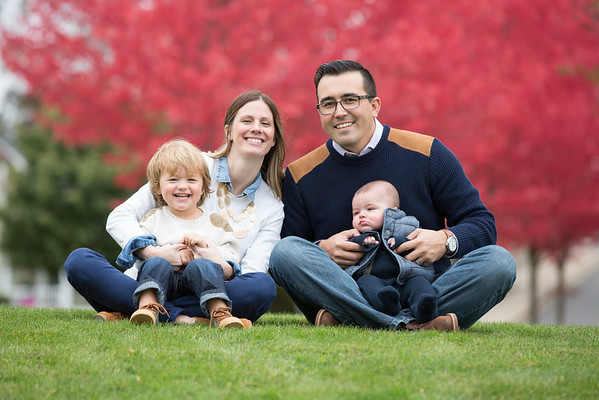 Julie and Brad Family Petoskey Waterfront Park by Paul Retherford Photography