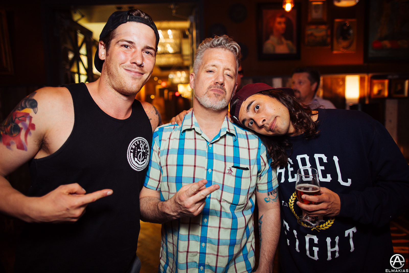 Zack, Mike, and VIc