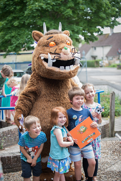 Julia Donaldson Author of the Gruffalo and many other childrens books. Signing books and on the Gruffalo show @ Steyning Grammer school Steyning. 02-06-2018 photos by Sophie Ward Photography.