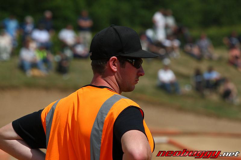 Neil Cragg sporting a rather dashing Orange high-viz Vest Rd 3 BRCA Nationals