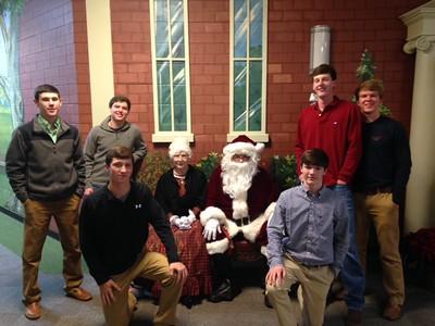 2014 Baseball Christmas Open House