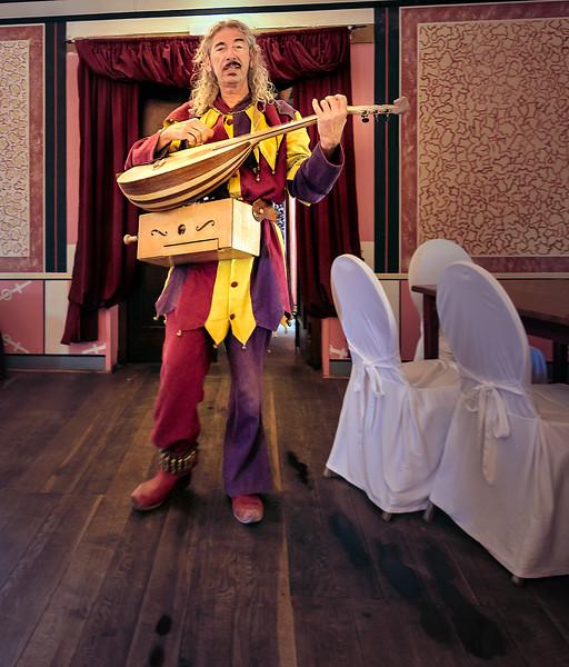 Musician at the inn