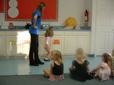 Lauren at Dance Class