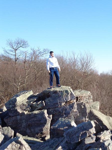 Hiking Blackrock